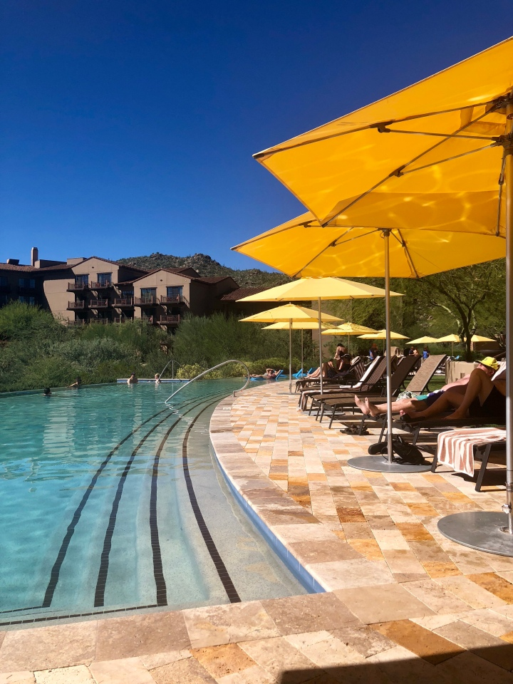 Adult pool at Ritz-Carlton Dove Mountain