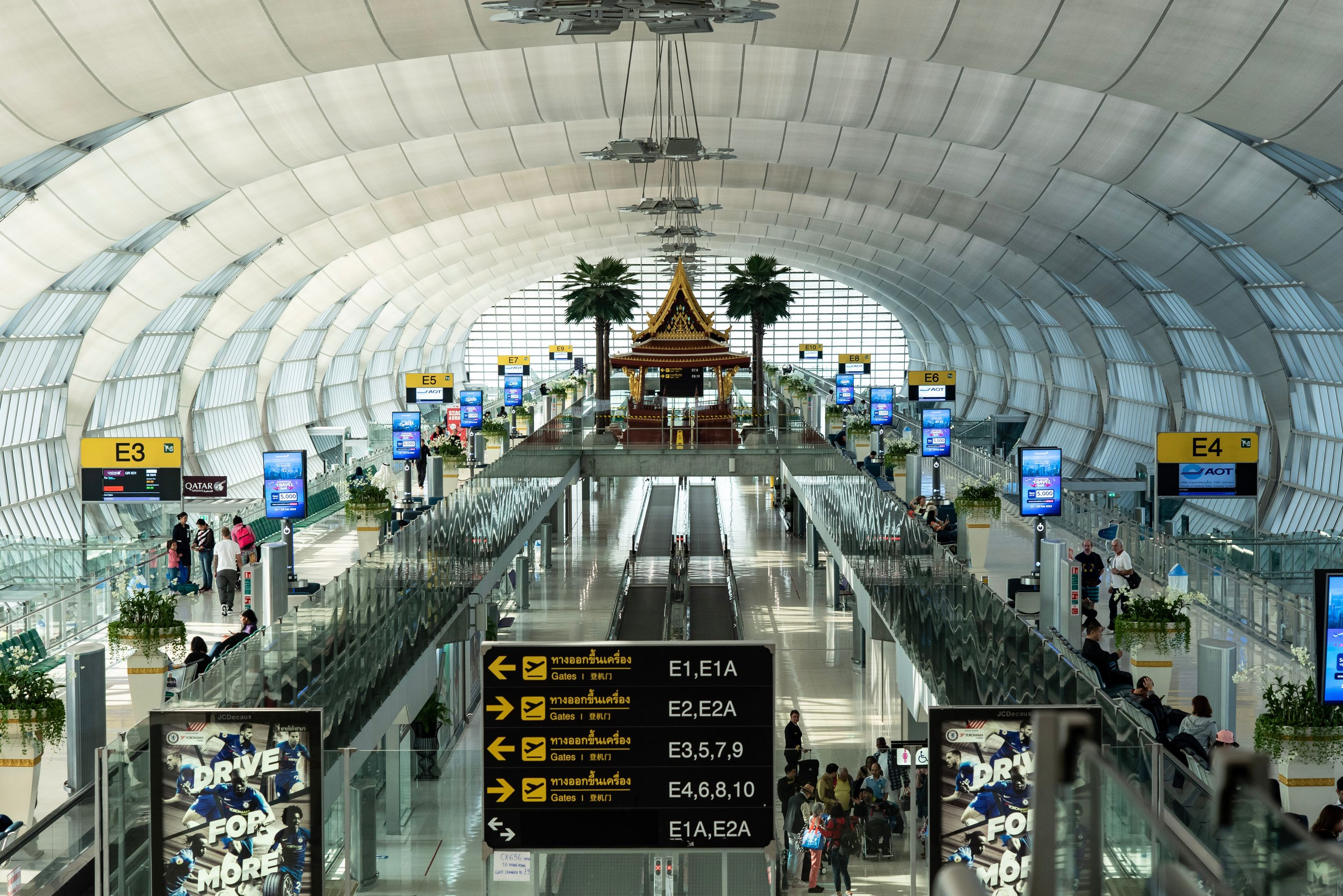 airport gates in Asia