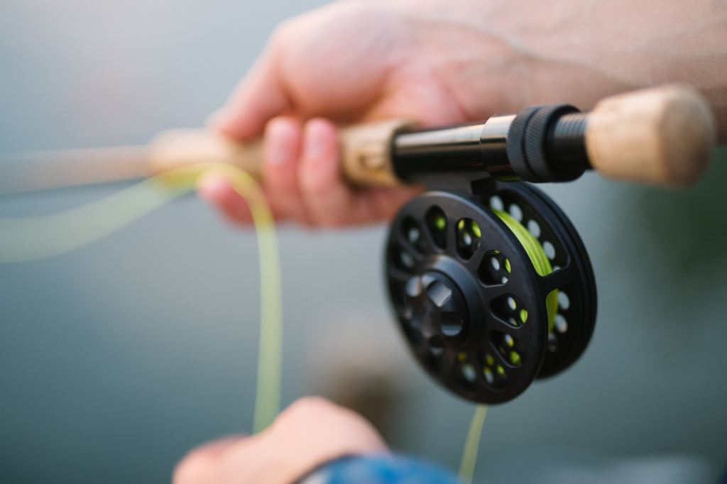 image of a fly rod and reel